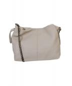 lusso vita(ルッソ ヴィータ)の古着「チェーンショルダーバッグ」|ベージュ