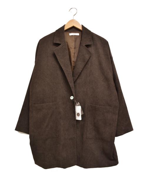 JOURNAL STANDARD(ジャーナルスタンダード)JOURNAL STANDARD (ジャーナルスタンダード) 細畝コールジャケット ブラウン サイズ:F 未使用品の古着・服飾アイテム