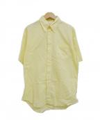 INDIVIDUALIZED SHIRTS(インディビジュアライズドシャツ)の古着「半袖ボタンダウンシャツ」|ネイビー