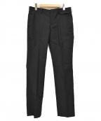 UNDERCOVERISM(アンダーカバーイズム)の古着「09SS フラップポケット刺繍スラックス」|ブラック