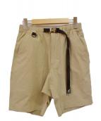 GRAMICCI(グラミチ)の古着「クライミングショートパンツ」|ベージュ