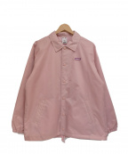 X-GIRL(エックスガール)の古着「コーチジャケット」|ピンク