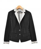 BERARDI(ベラルディ)の古着「カットオフテーラードジャケット」|グレー