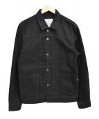 LEVIS MADE&CRAFTED(リーバイス メイドアンドクラフテッド)の古着「Type II ブラックデニムジャケット」|ブラック