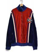 GUCCI(グッチ)の古着「19SS コットンシェニールジャケット」|ブルー