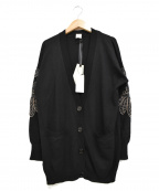 PINKO(ピンコ)の古着「ニットカーディガン」|ブラック