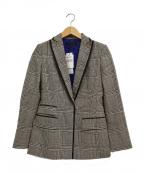 BERARDI(ベラルディ)の古着「チェックジャケット」|グレー