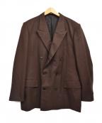 LITTLEBIG(リトルビッグ)の古着「Flannel Double Jacket」|ブラウン
