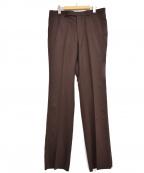 LITTLEBIG(リトルビッグ)の古着「Flannel Flare Trousers」|ボルドー