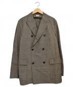 PHIGVEL MAKERS(フィグベルマーカーズ)の古着「GENT'S TWEED JACKET」|グレー