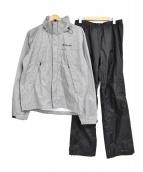 Columbia(コロンビア)の古着「シンプソンサンクチュアリレインスーツ」|ホワイト×ブラック