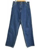 Carhartt WIP(カーハート ダブリューアイピー)の古着「SIMPLE PANT デニムパンツ」 インディゴ