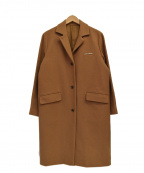 KEITA MARUYAMA(ケイタマルヤマ)の古着「ウールチェスターコート」 ベージュ