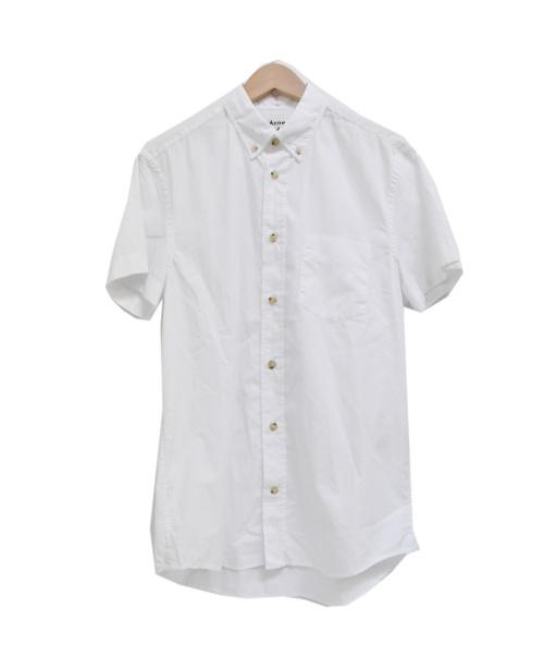 ACNE STUDIOS(アクネステュディオズ)ACNE STUDIOS (アクネステュディオズ) ISHERWOOD SOFT POPLIN SHORT ホワイト サイズ:44の古着・服飾アイテム