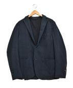 L.B.M.1911(エルビーエム1911)の古着「ローゲージテーラードジャケット」 ネイビー