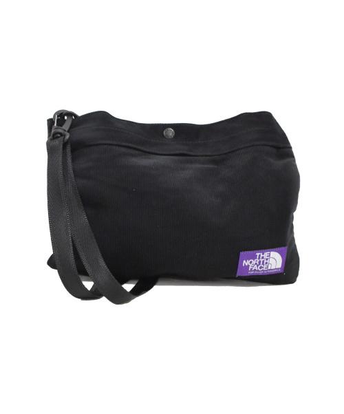 THE NORTHFACE PURPLELABEL(ザノースフェイスパープルレーベル)THE NORTHFACE PURPLELABEL (ザノースフェイスパープルレーベル) Corduroy Shoulder Bag ブラック サイズ:下記参照 未使用品の古着・服飾アイテム