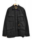 NEIGHBORHOOD(ネイバーフッド)の古着「MIL-BDU C-SHIRT」|ブラック