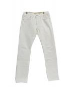 BROOKS BROTHERS×Dickies(ブルックスブラザーズ×ディッキーズ)の古着「デニムパンツ」|ホワイト