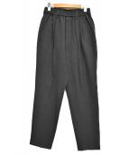 MAISON SPECIAL(メゾンスペシャル)の古着「アウトラストサルエルテーパードパンツ」|グレー