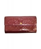 LOUIS VUITTON(ルイ ヴィトン)の古着「長財布」|アマラント