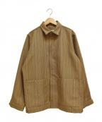 ATHA()の古着「ウールワイドジャケット」|ベージュ