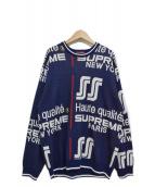 Supreme(シュプリーム)の古着「20SS Qualite Sweater カリテ セーター」|ネイビー