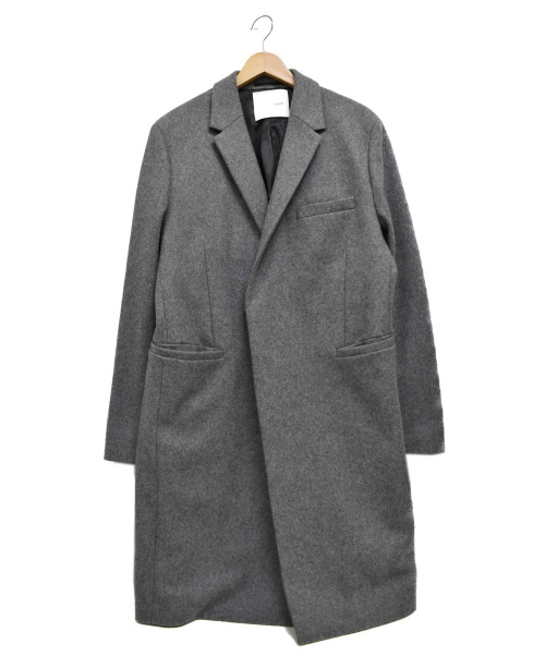 Adam et Rope(アダムエロペ)Adam et Rope (アダムエロペ) チェスターコート グレー サイズ:LLの古着・服飾アイテム
