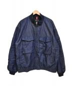 ALPHA INDUSTRIES(アルファ インダストリーズ)の古着「デニムジャケット」|インディゴ