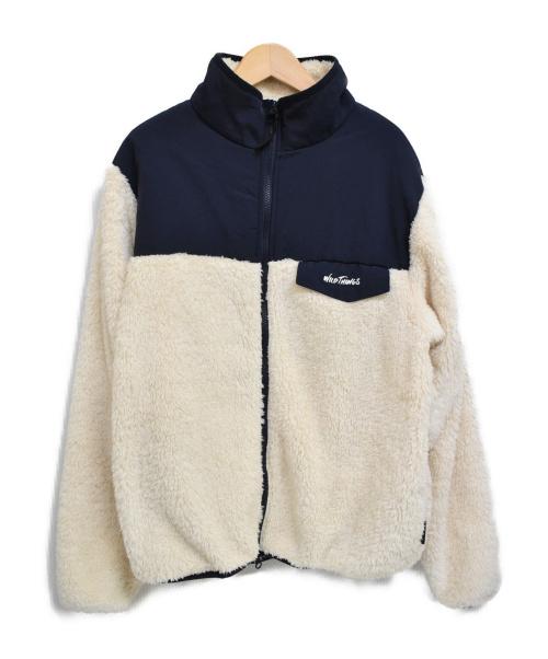 WILD THINGS(ワイルドシングス)WILD THINGS (ワイルドシングス) フリースジャケット アイボリー サイズ:Mの古着・服飾アイテム