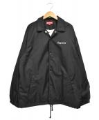 Supreme × Nan Goldin(シュプリーム × ナン ゴールディン)の古着「Misty and Paulette CoachJacket」|ブラック