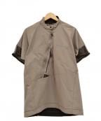 KLATTERMUSEN(クレッタルムーセン)の古着「半袖プルオーバージャケット」 グレー