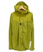 KLATTERMUSEN(クレッタルムーセン)の古着「ナイロンパーカー」 黄緑