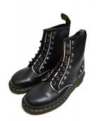 Dr.Martens(ドクターマーチン)の古着「Stud Vintage Smooth boots」|ブラック