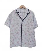 holiday(ホリデイ)の古着「flower shirt」|スカイブルー