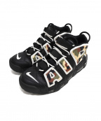 NIKE()の古着「AIR MORE UPTEMPO 96 QS」|BLACK/SAIL-LT BRITIS