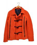 junhashimoto(ジュンハシモト)の古着「メルトンショートコート」|レッド