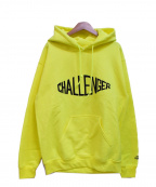 CHALLENGER()の古着「プルオーバーパーカー」|イエロー