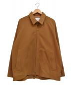 CURLY(カーリー)の古着「ジップジャケット」|ブラウン