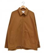 CURLY(カーリー)の古着「ジップジャケット」 ブラウン