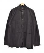 CURLY(カーリー)の古着「スナップ釦ワイドジャケット」 ブラック