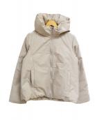 TIENS ecoute(ティアンエクート)の古着「リバーシブルショートダウン」|グレー