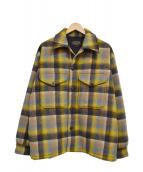 PENDLETON(ペンドルトン)の古着「CPOシャツジャケット」 イエロー×ブラウン