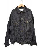 FACETASM(ファセッタズム)の古着「WOOL DENIM JACKET」 インディゴ
