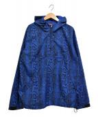 Supreme(シュプリーム)の古着「12SS Snake Pullover スネークプルオーバー」|ブルー