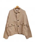 UNUSED()の古着「19SS Safari Hunting Jacket」|ベージュ