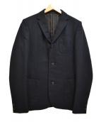 kolor/BEACON(カラービーコン)の古着「ウール3Bテーラードジャケット」 ネイビー