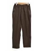DESCENTE PAUSE(デサントポーズ)の古着「PACKABLE PANTS パッカブル パンツ」 ブラウン