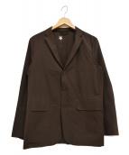 DESCENTE PAUSE(デサントポーズ)の古着「PACKABLE JACKET パッカブル ジャケット」|ブラウン