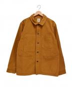 F.O.B FACTORY(エフオービー ファクトリー)の古着「フレンチモールスキン ジャケット」|ブラウン