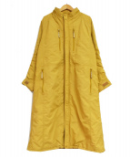 ISSEY MIYAKE FETE(イッセイミヤケ フェット)の古着「パラシュートコート」|ベージュ